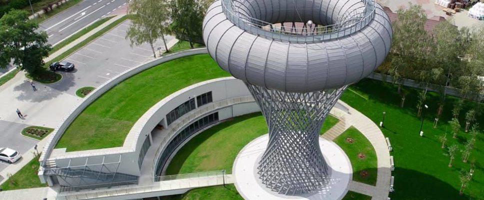 Wieża-ciśnień (źródło www.umciechanow.pl)